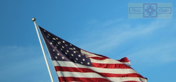 Rosie Crafts American Flag Photography